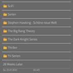 Aufnahme Liste