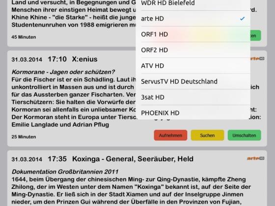 iPad mini screenshots